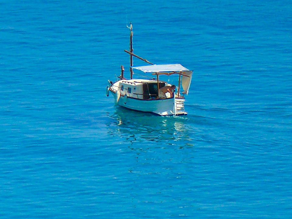 Boat, Ship, Sea, Barcelona, Spain, Mediterranean