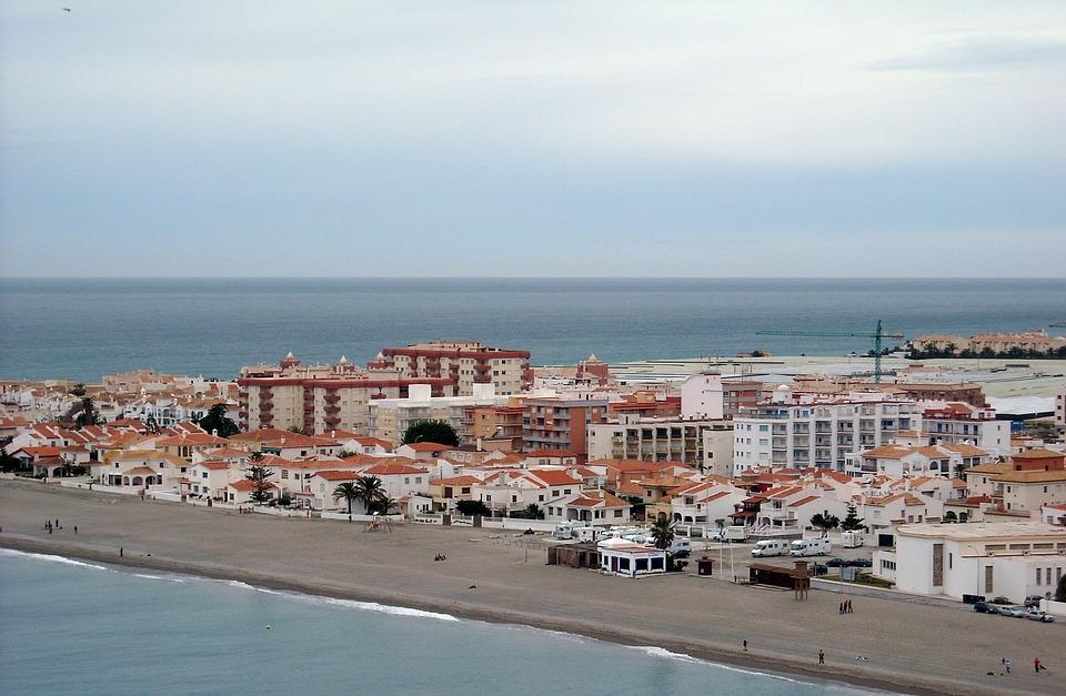 Calahonda, Bank, Beach, Mediterranean, Spain, Coast