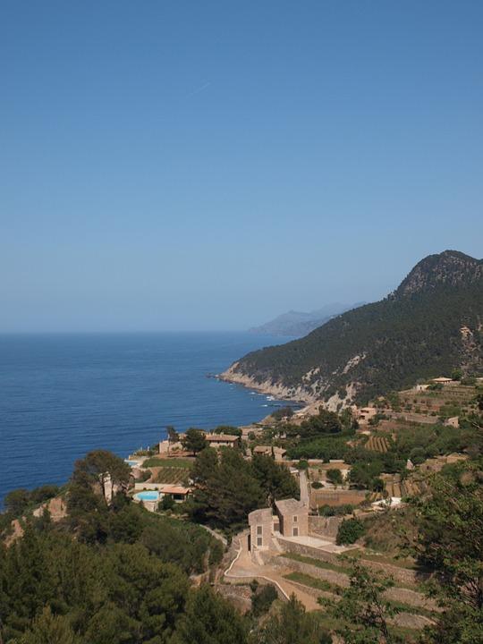 Mallorca, Coast, Mediterranean, Finka