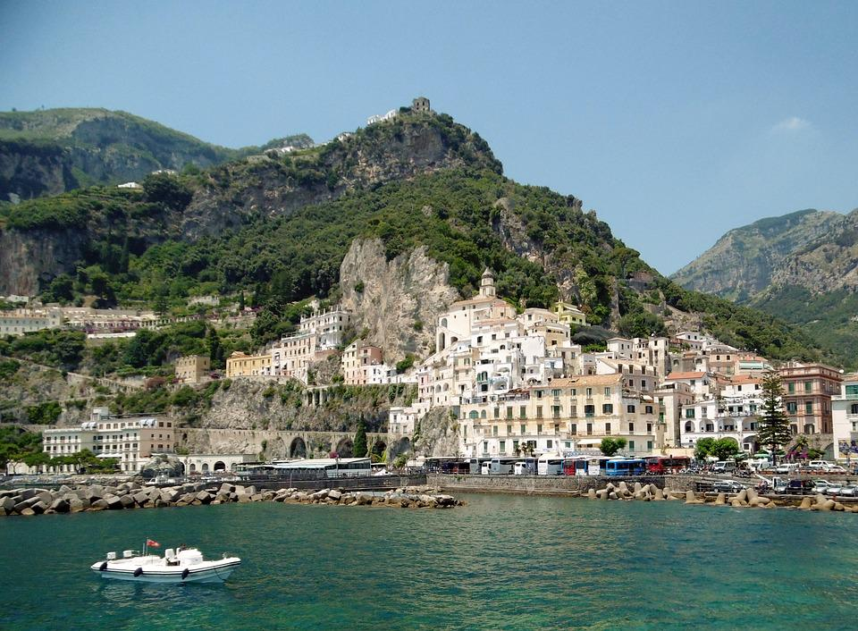 Mountain, Coastline, Mediterranean