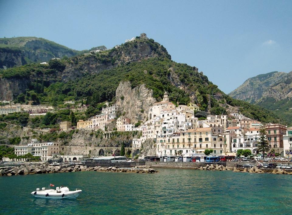 Mountain, Coastline, Mediterranean