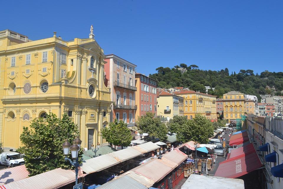 Nice, French Riviera, Mediterranean, France, Sunshine