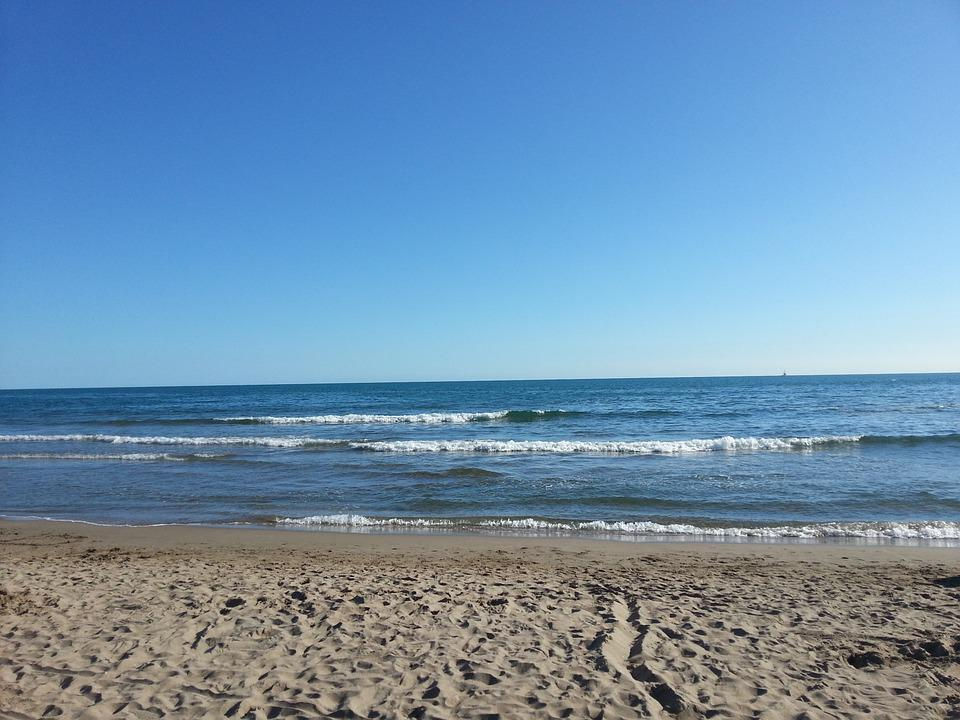 Beach, Sea, Sand, Mediterranean