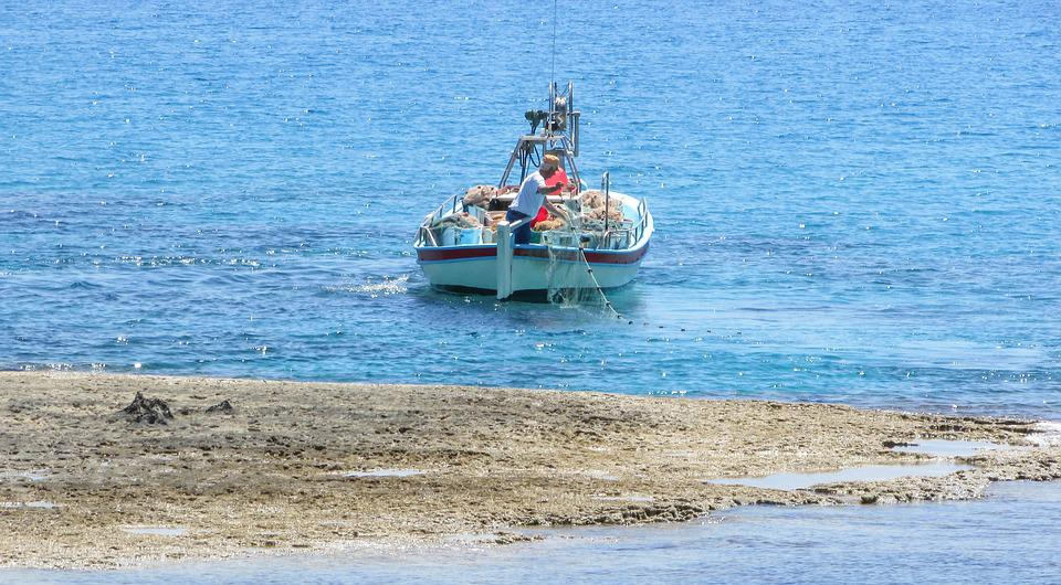 Cyprus, Fishing Boat, Sea, Mediterranean, Fishing