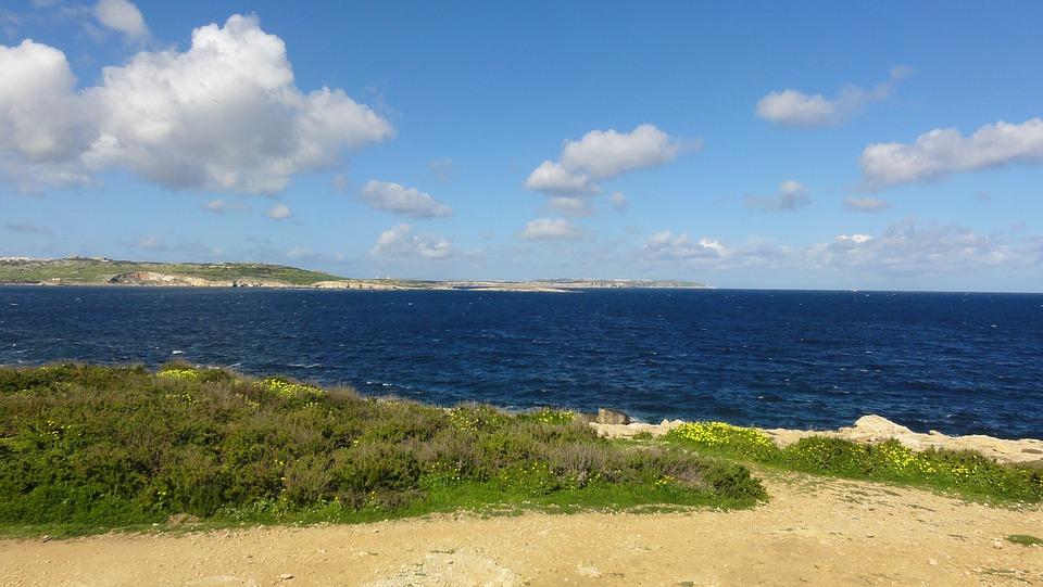 Sea, Green, Mediterranean