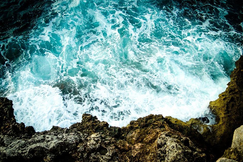 Majorca, Spain, Sea, Wave, Mediterranean, Water, Side