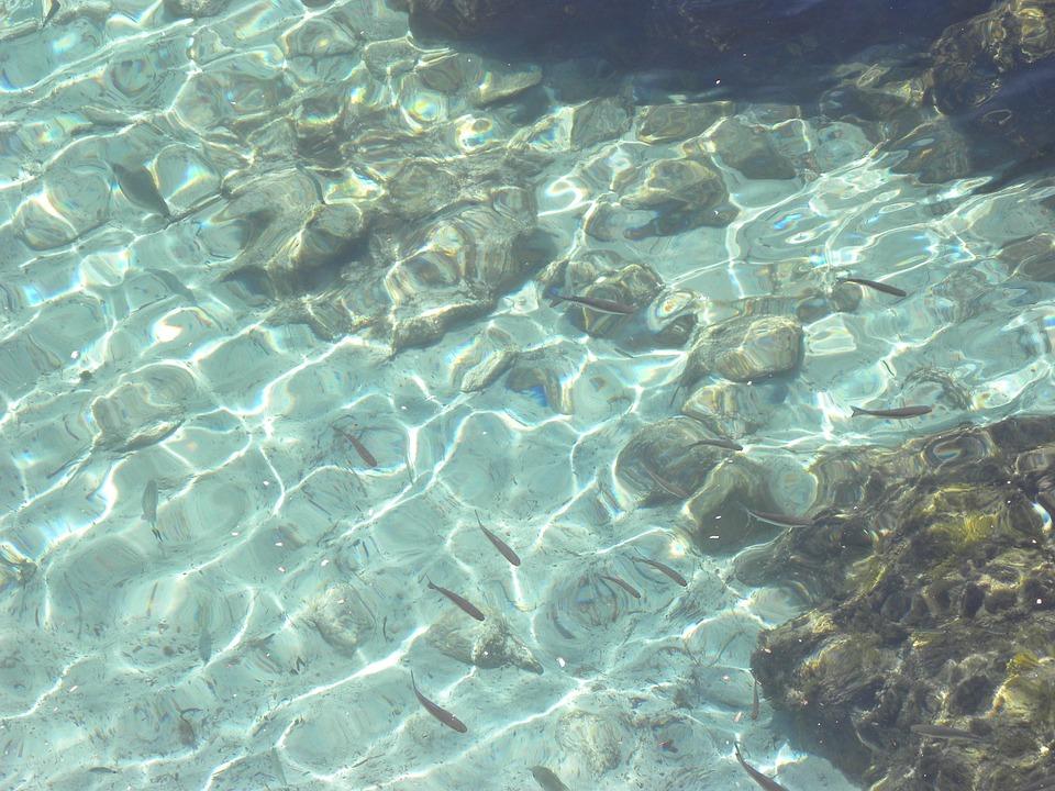 Water, Mediterranean, Spain, Coast, Ocean, Wave, Blue