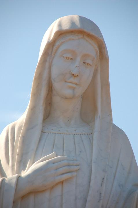 Mary, Immaculate, Medjugorje, Figure, The Statue