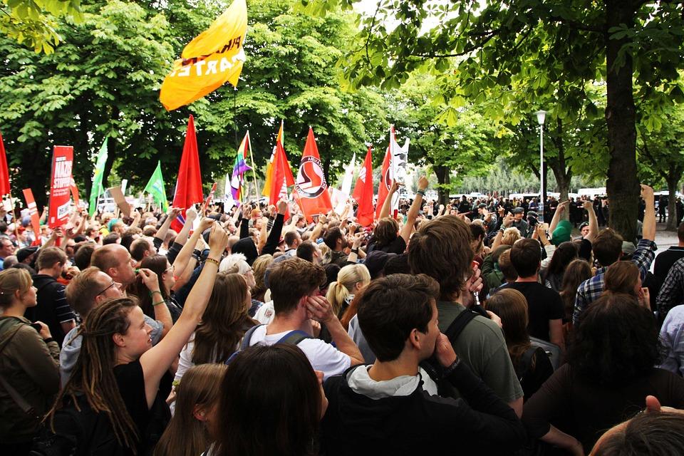 Demonstration, Mass, Human, Activists, Meeting