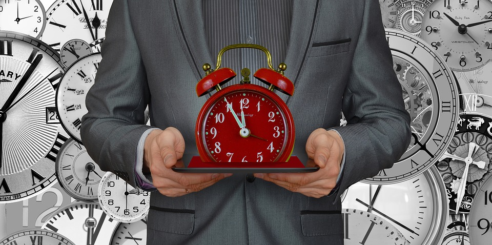 Businessman, Consulting, Business, Meeting, Time, Clock