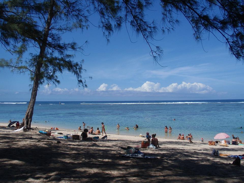 Meeting, Beach, Lagoon