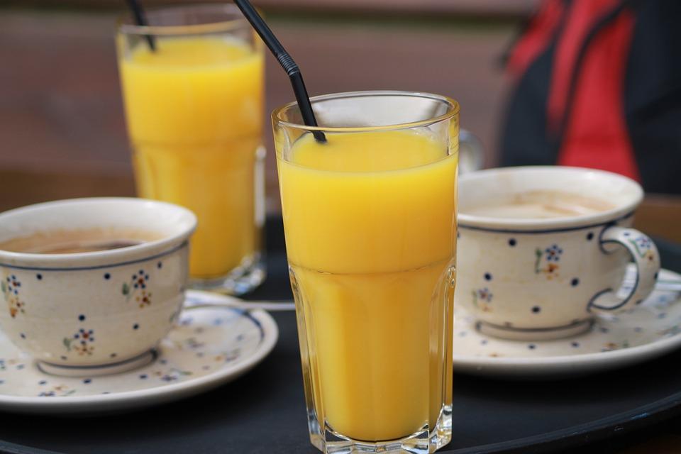 Orange Juice, Coffee, Meeting