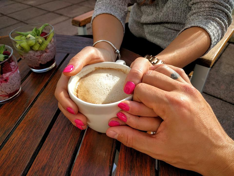 Coffee, A Cup Of, Potty, The Moment, Meeting, Romance