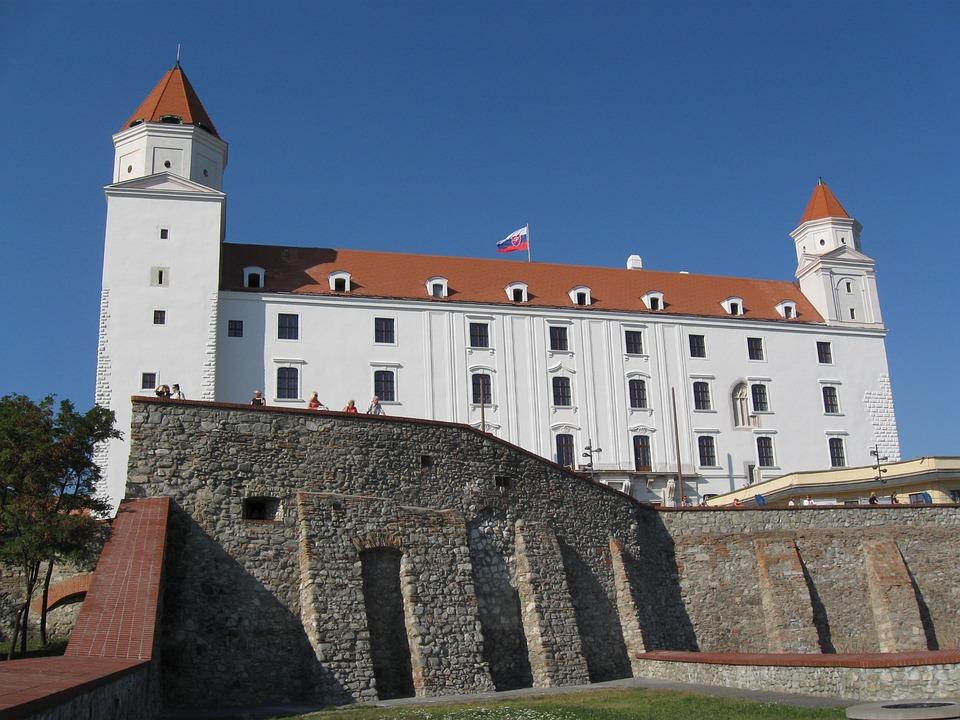 Bratislava, Castle, City, Megalopolis, Slovakia