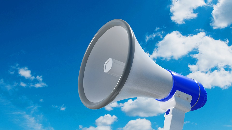 Megaphone, Device, Loudspeaker, Communication, Speaker