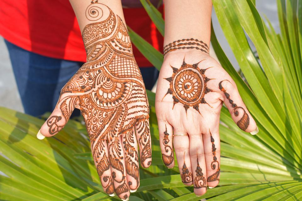 Beautiful Mehndi Decoration : Free photo mehndi decorative designs henna beautiful hands max pixel