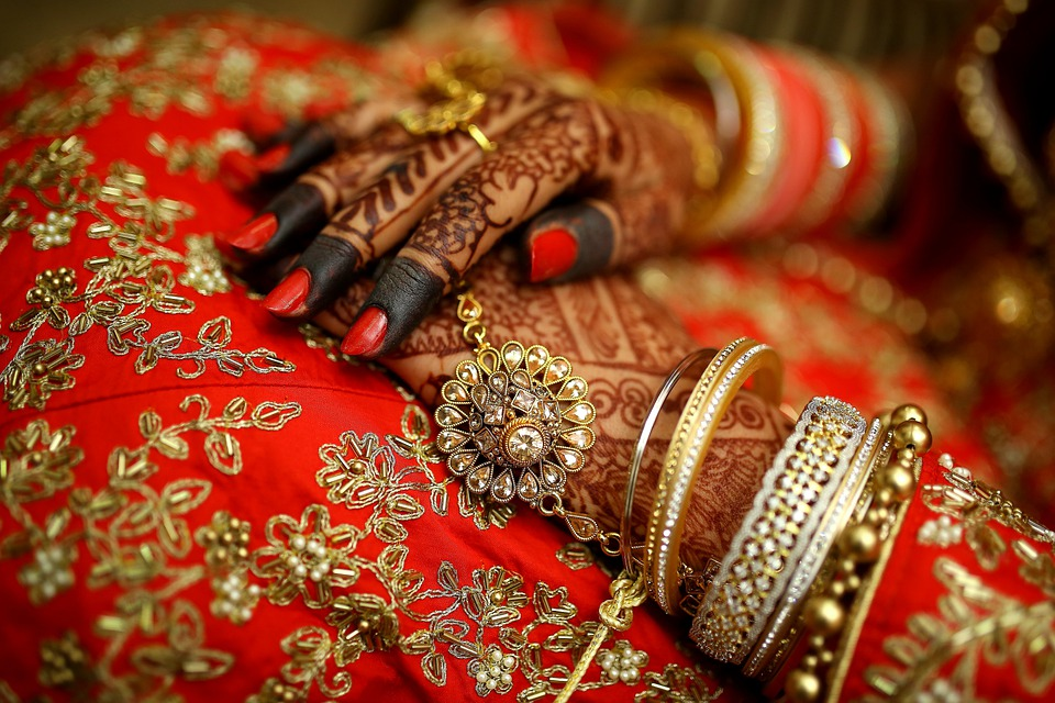 Jewellery, Mehndi, Hands, Bride, Woman, Wedding, Tattoo