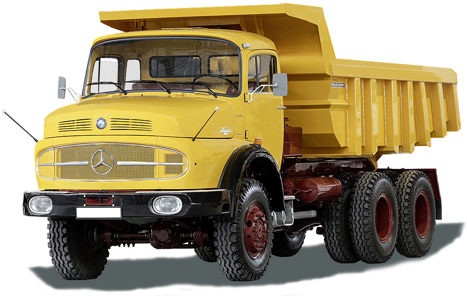 Mercedes Benz, Lak 2624, Meiler Tipper, Oldtimer