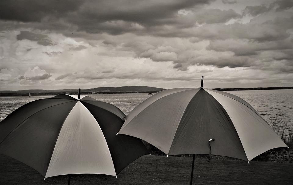 Umbrella, Melancholia, Rain, Weather Forecast