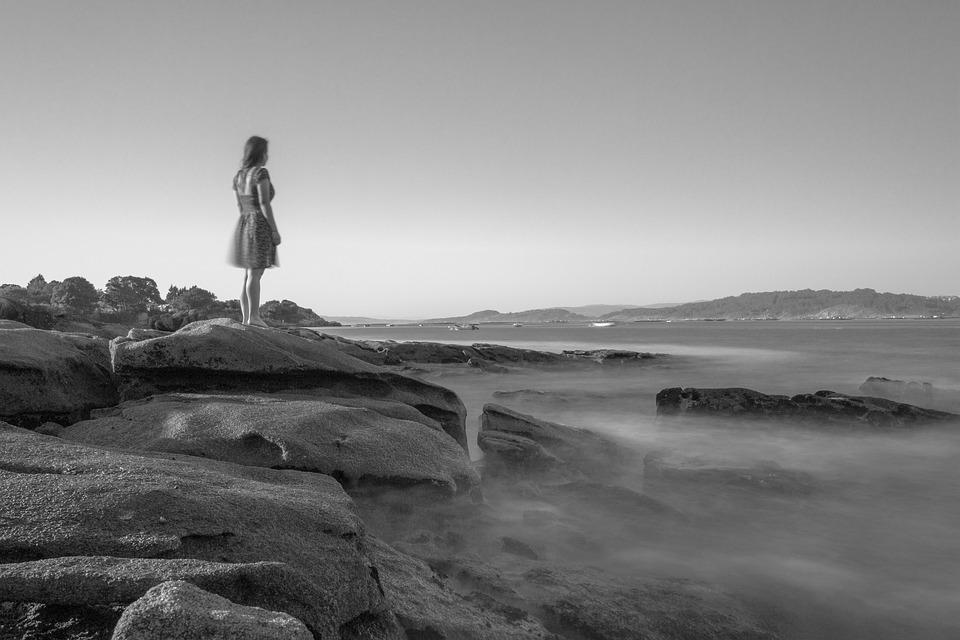 Ria, Aldán, Galicia, Melancholy, Sadness, Peaceful, Sea