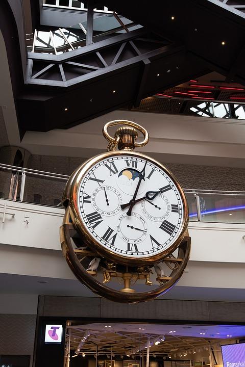 Clock, Melbourne, Melbourne Central, Time, Cbd, Giant