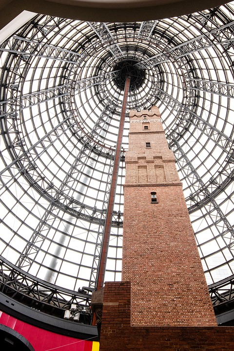 Shot Tower, Tower, Melbourne, Coop's Shot Tower