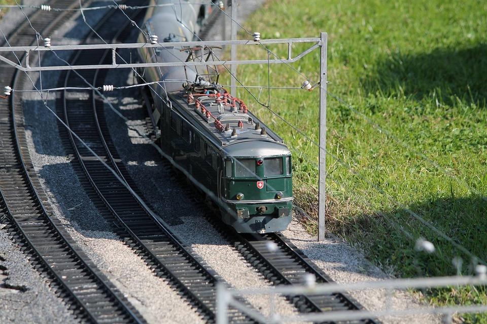 Model, Train, Swissminiatur, Melide, Switzerland