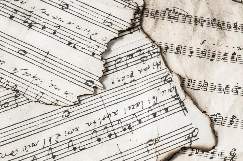 Music Notes, Music, Melody, Sound, Classic, Musical