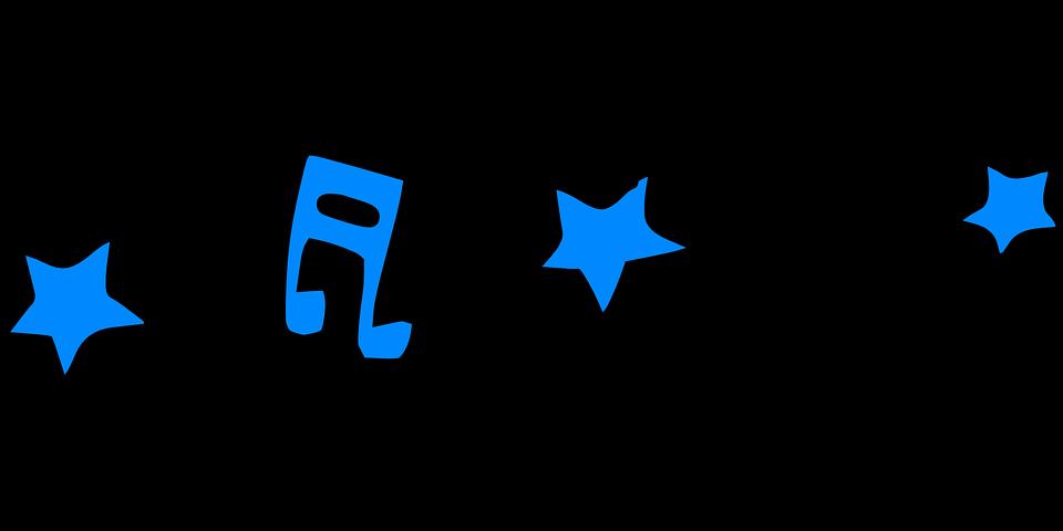 Music, Note, Stars, Audio, Sounds, Melody, Radio, Sound