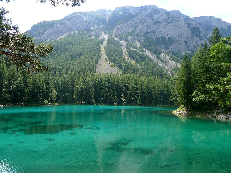 Green Lake, Styria-austria, Meltwater, Turquoise Blue