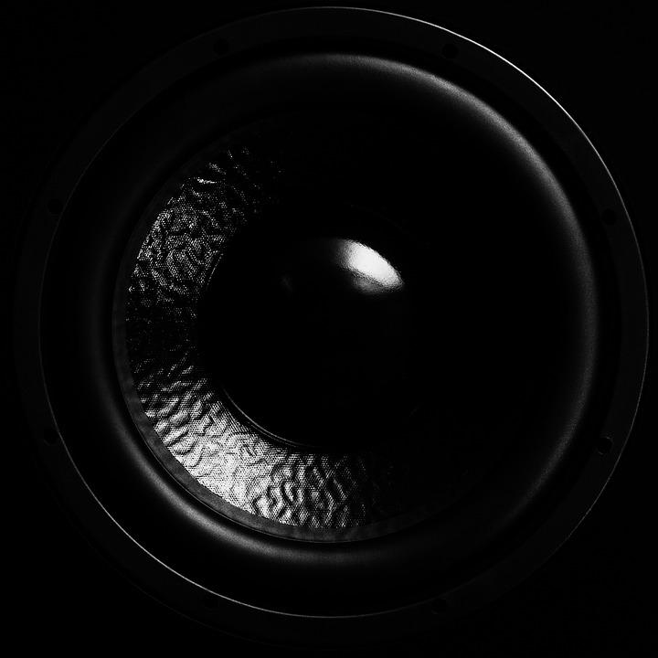 Speakers, Subwoofer, Bass, Membrane, Music, Audio