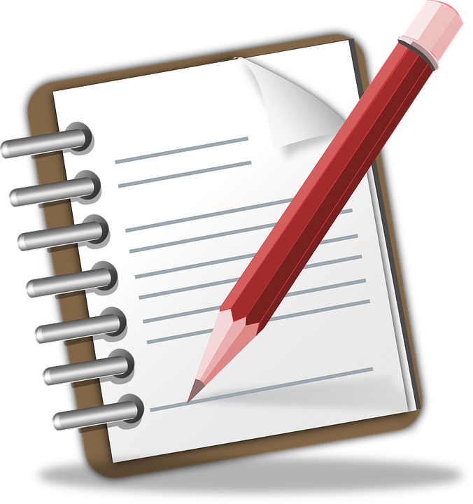 Notepad, Memo, Pencil, Writing, Note, Author, Publish