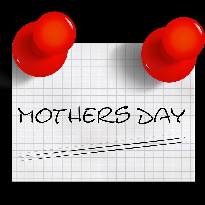 Mother's Day, List, Pin, Memo, Stickies, Note, Message
