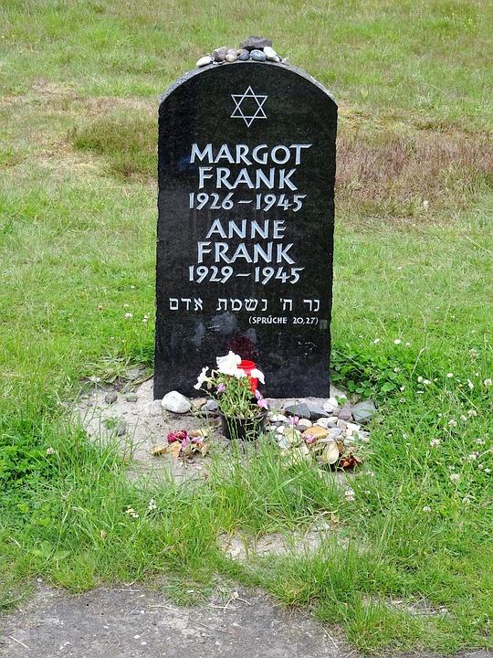 Bergen-belsen, Memorial, Tombstone, Anne Frank