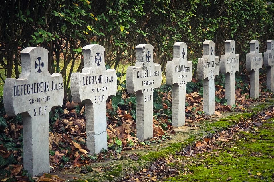 Cemetery, Military, Memorial, Monument, War, Grave