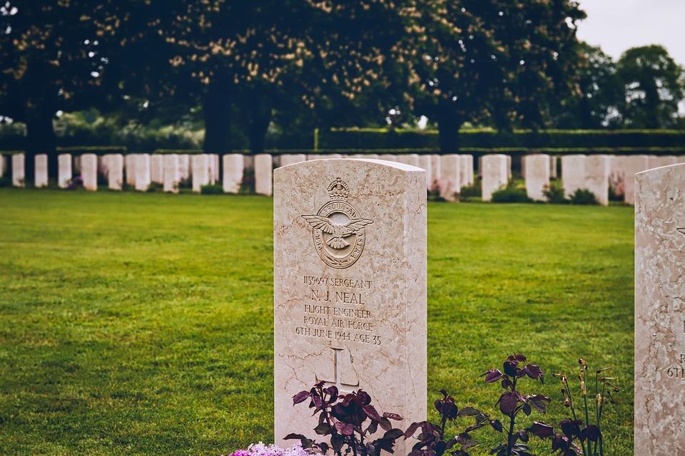 D-day, Cemetery, British, Military, Memorial, Honor