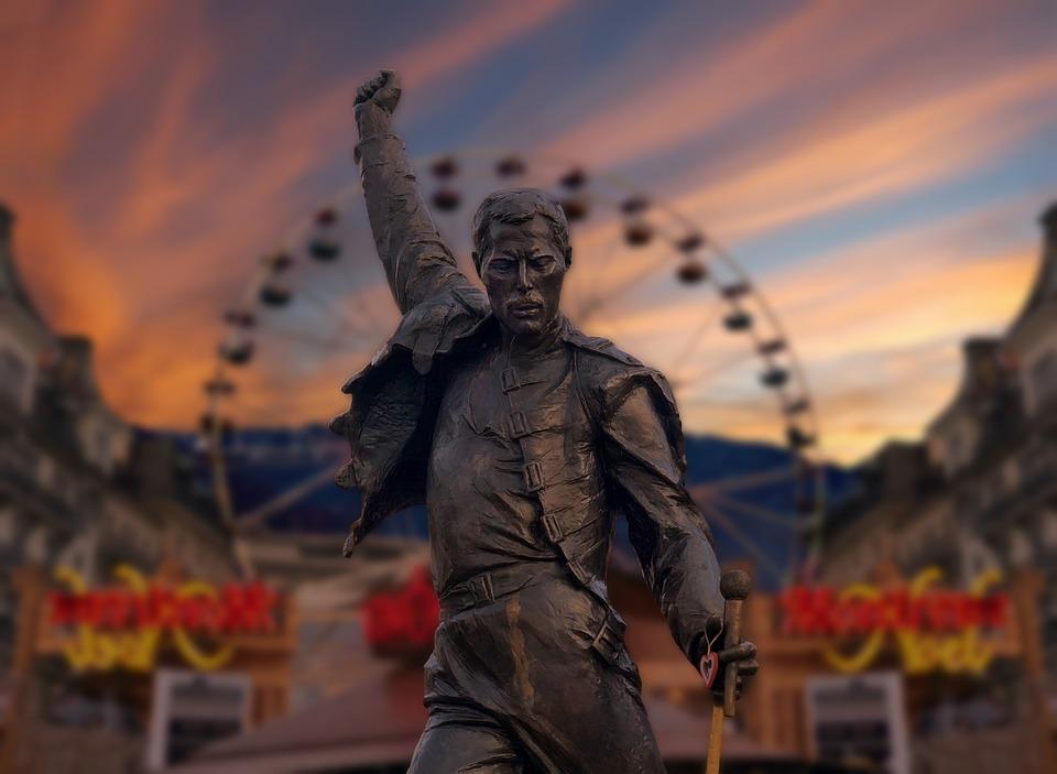 Statue, Freddie, Mercury, Singer, Memorial, Queen