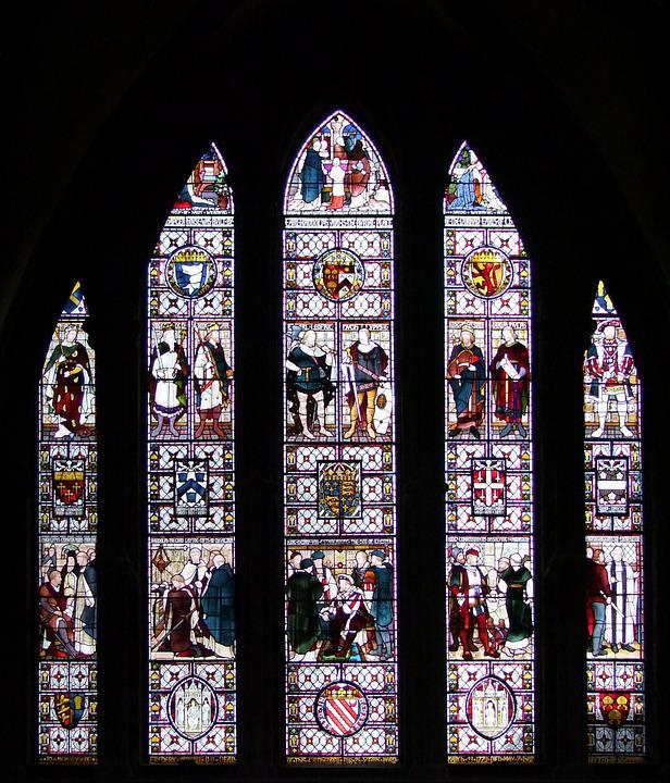 Chester Cathedral, Ansor Frederick, Memorial, Window