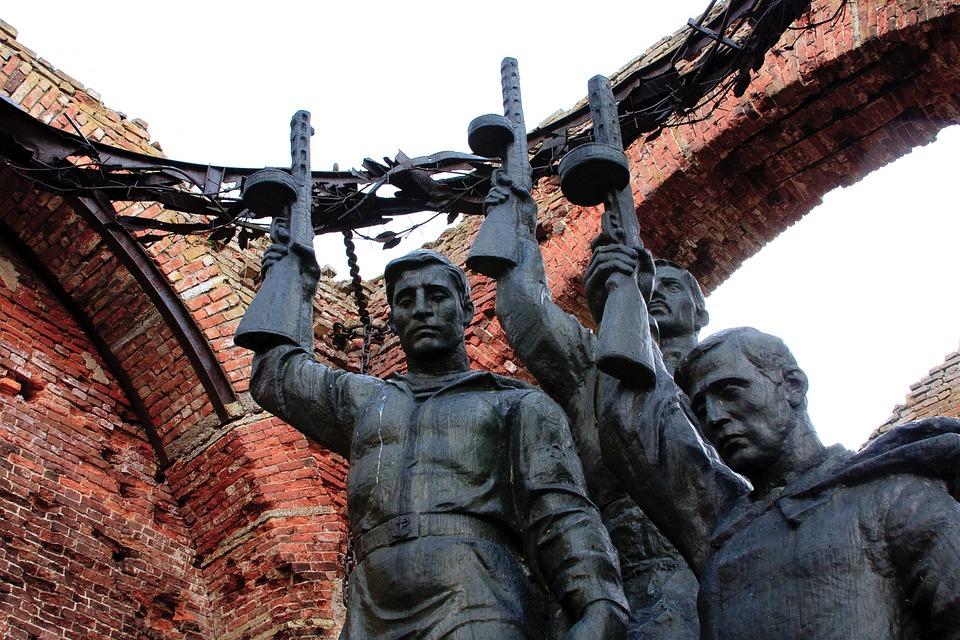 Monument, War, Soldiers, Memory, Defense Of Leningrad