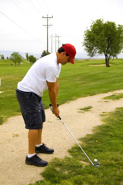 Golf, Rear View, Men