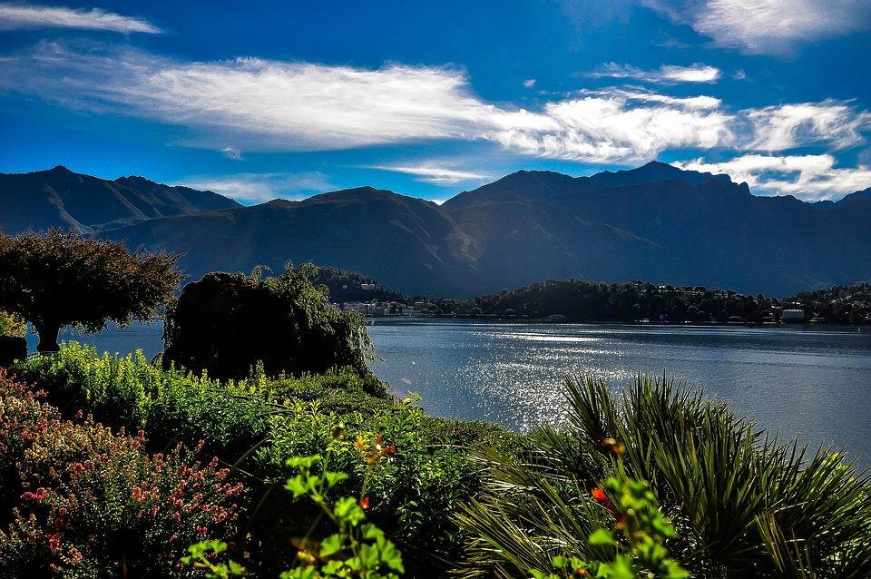 Lake Como, Basant Di Como, Menaggio, Italy, Lake