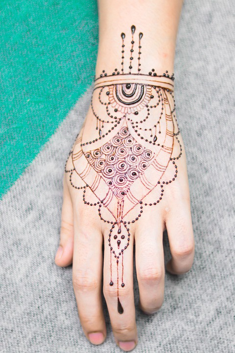 Girl, Hand, Mendi, Natural, Marriage, Body, Paint