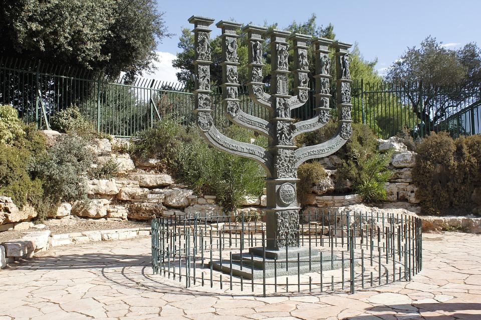 Israel, Jerusalem, Menorah