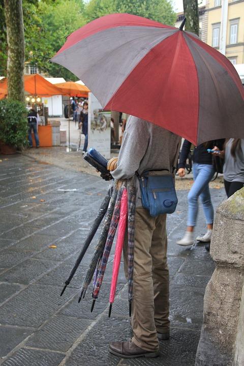 Umbrella, Rain, Men's