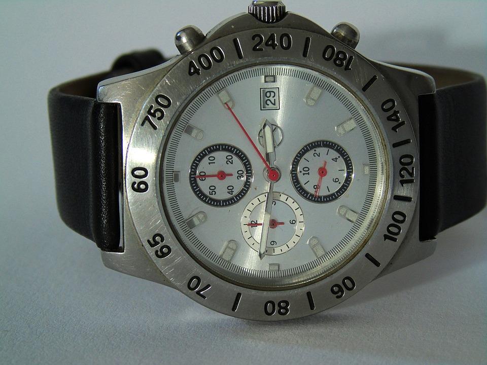 Wrist Watch, Clock, Time, Wrist, Time Indicating, Mens