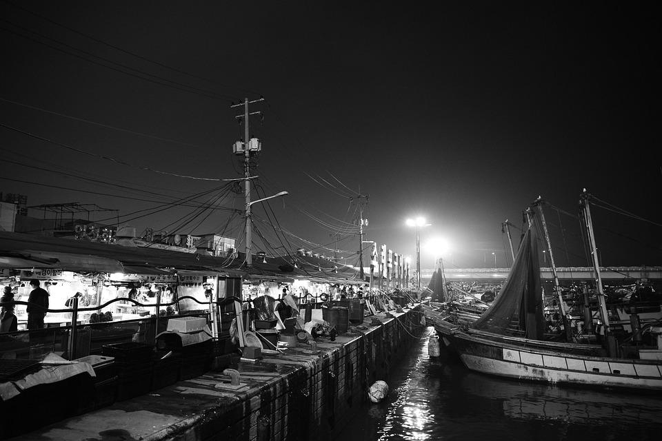 Wharf, Market, Incheon, Mentholatum Muzzle