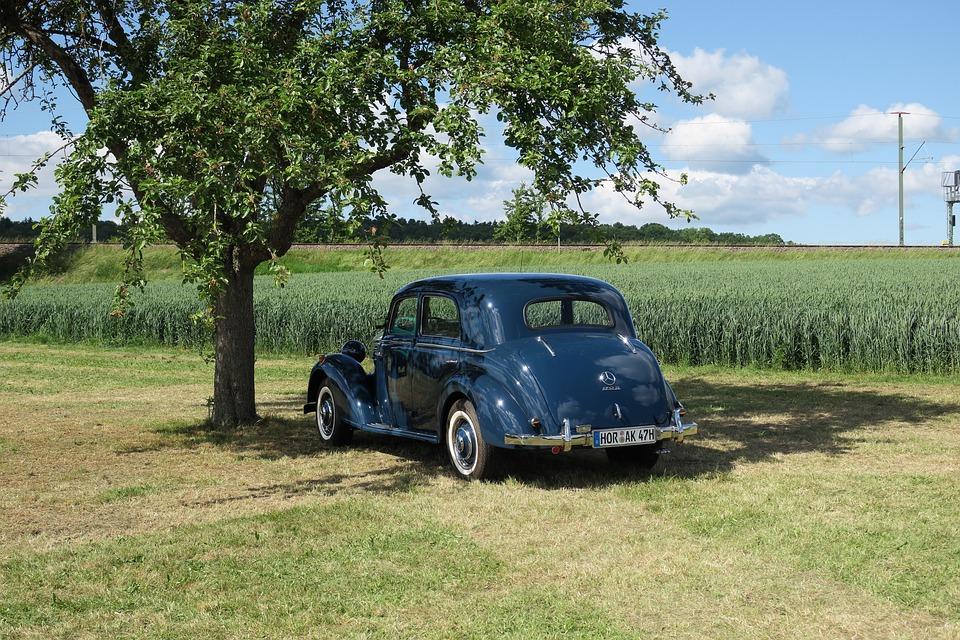 Auto, Oldtimer, Mercedes
