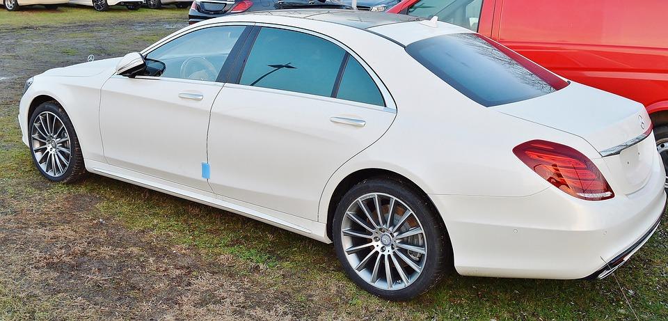 Mercedes, Daimler, White, Noble, Auto, Elegant, Luxury