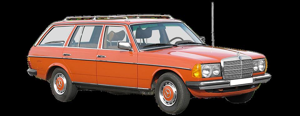 Mercedes Benz, W123, T-model Station Wagon, 200-280