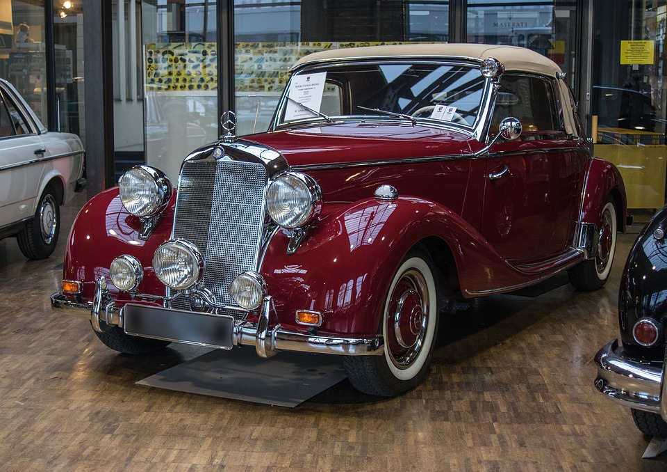 Auto, Mercedes, Oldtimer, Vehicle, Exhibition, Drive
